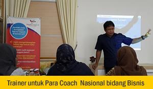 Trainer untuk Coach Bisnis