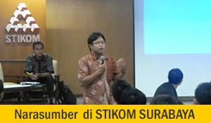 Narasumber Kewirausahaan STIKOM Surabaya
