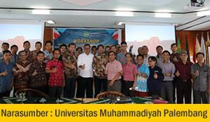 Narasumber Webometrics World Class University Universitas Muhammadiyah Palembang