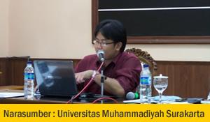 Narasumber Universitas Muhammadiya Semarang